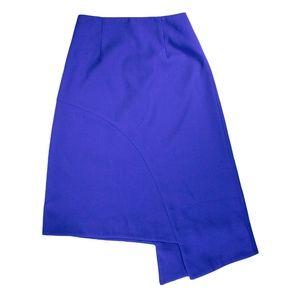C/MEO Collective Blue Asymmetrical Skirt S